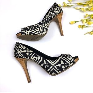 Christian Siriano For Payless Open Toe Cork Heels